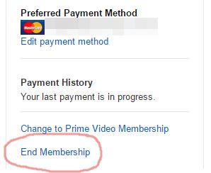 End Membership