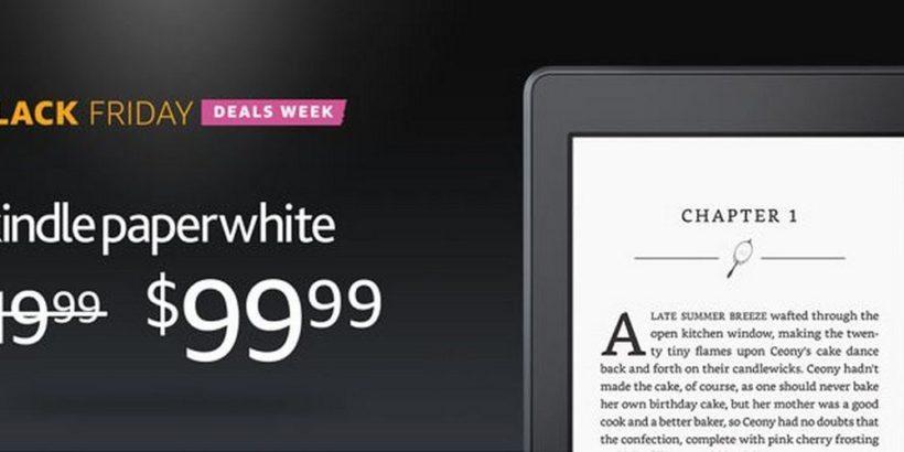 Черная пятница. Скидка на модели Kindle
