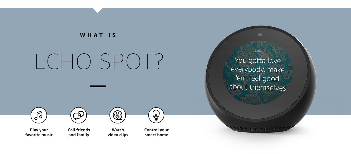 Что такое Echo Spot